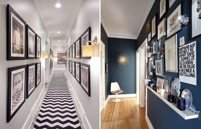 Дизайн узкого коридора (82 фото): идеи и решения оформления интерьера прихожих в квартире. как визуально расширить коридор? советы дизайнера