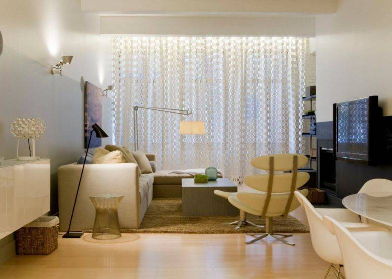 Шторы для гостиной: новинки дизайна 2021 года