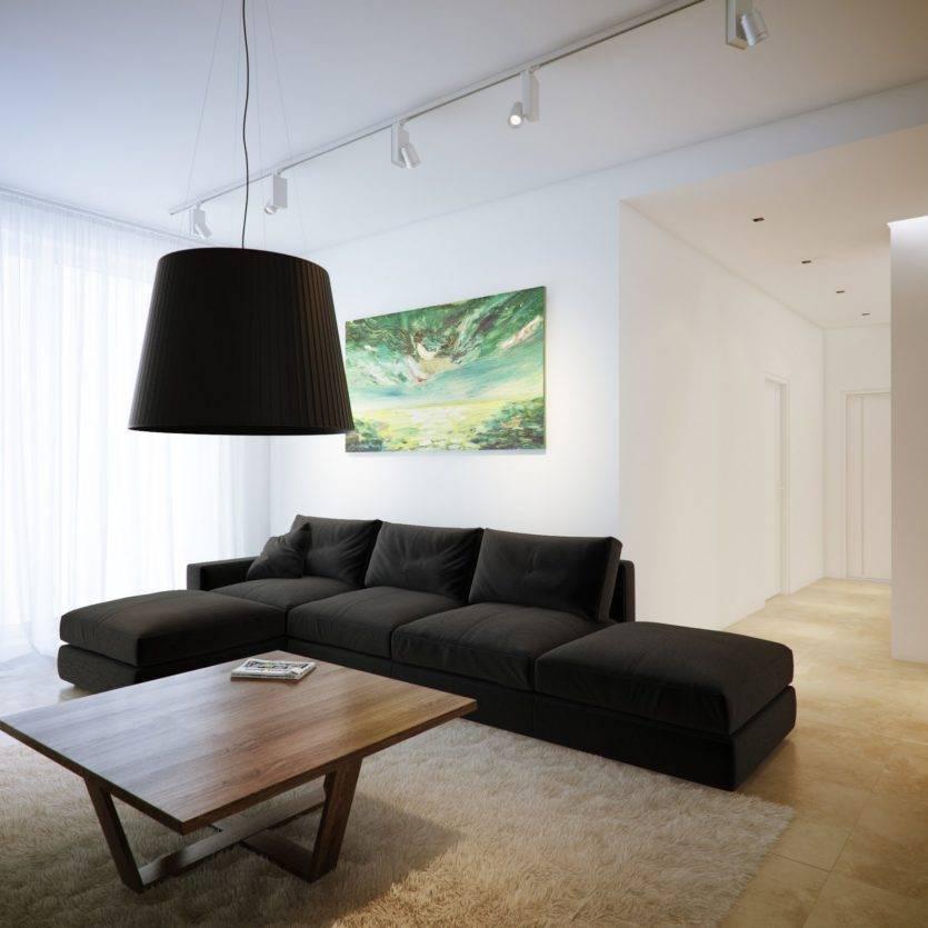 Гостиная в стиле минимализм: 100 фото красивых интерьеров