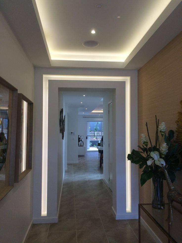 Создаем потолки в коридоре из гипсокартона: фото, как стимул к действию