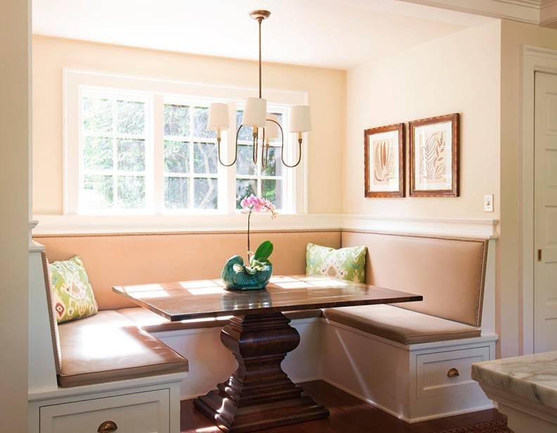 Кухонный уголок - фото необычных идей как сочетать в интерьере