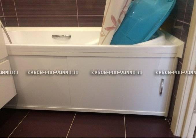 Экран для ванной - лучшие модели, советы по монтажу и варианты стильного оформления (145 фото)
