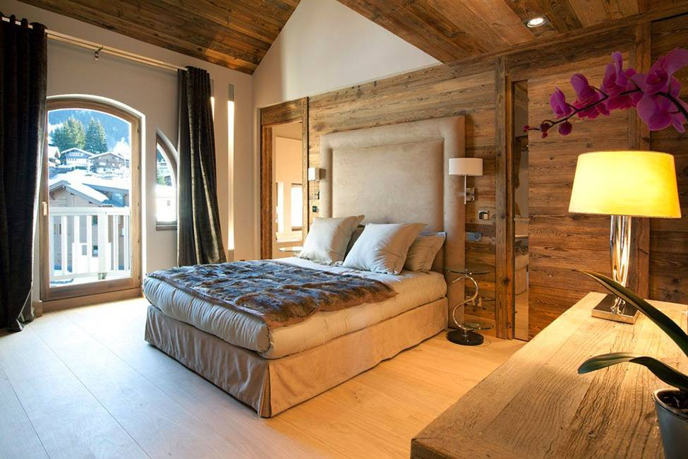 Идеи дизайна интерьера спальни в частном доме