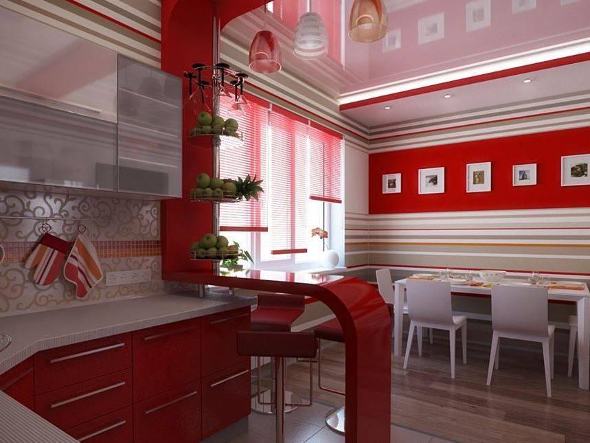 Яркая кухня: практичекие советы как сделать кухню яркой (реальные фото)