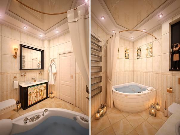 Дизайн угловой ванной - оптимальные современные проекты для ванной (110 фото-идей)