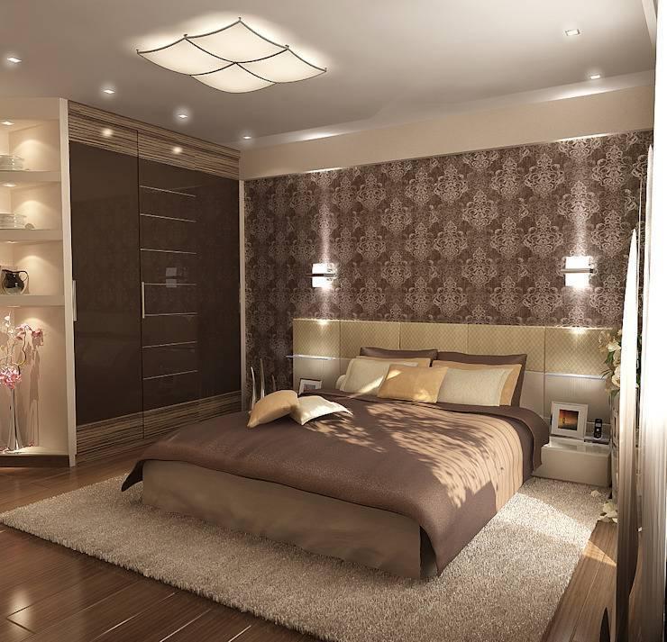 Дизайн интерьера спальни 9 кв.м. — 70 фото и идей