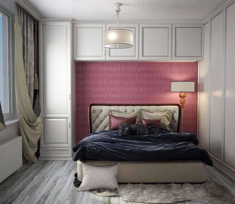 Дизайн спальни 12 кв. м. -  выбор цвета, стиля, декора, фото идеи