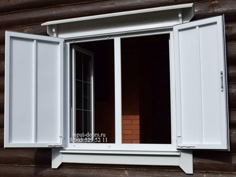 Ставни на окна своими руками - виды и их монтаж (+фото) | стройсоветы