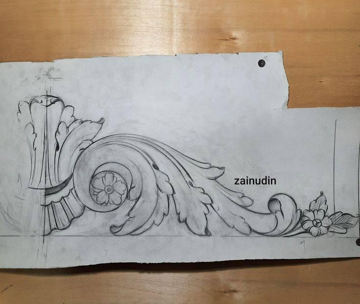 Все тонкости и секреты геометрической резьбы по дереву: техника, орнаменты и эскизы, практический урок резьбы