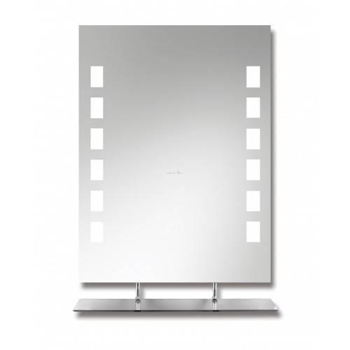 Зеркало в ванную комнату, критерии выбора - фото примеров
