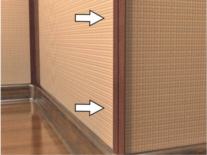 Уголки для стен: для внутренней и внешней отделки