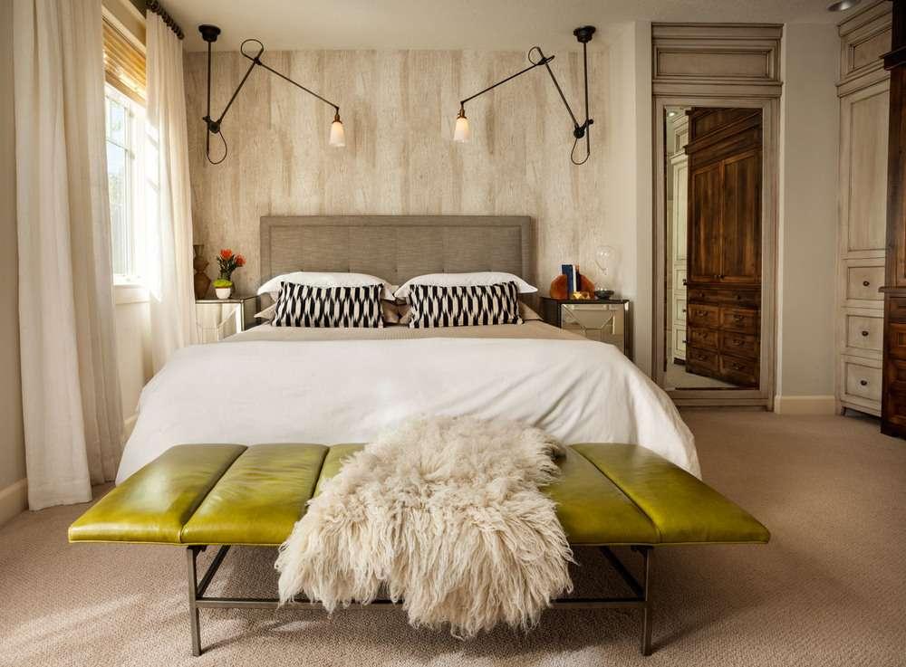 Бежевая спальня: лучшие сочетания цветов и оттенков (120 фото в бежевых тонах)