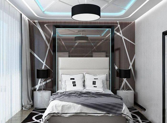 Варианты и идеи для интерьера спальни в хрущевке