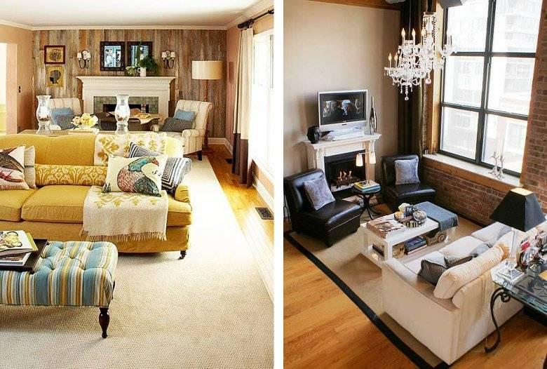 Как расставить мебель: 105 фото основных способов расстановки