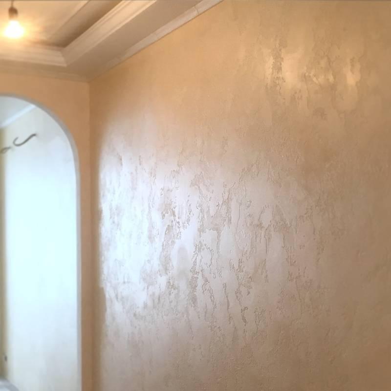 Технология фактурной покраски стен своими руками. поэтапное описание процесса с фото и видео