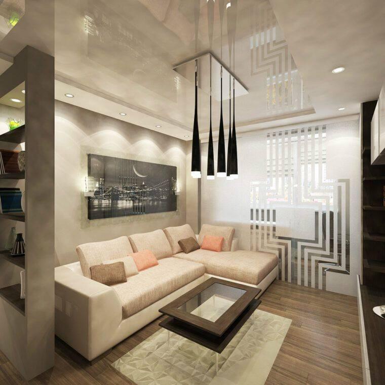 Дизайн спальни-гостиной 16 кв. м (44 фото): интерьер одной комнаты 16 квадратов, метров