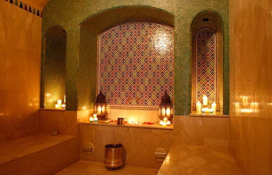 Ванная в восточном стиле: марокканское, японское, египетское направления