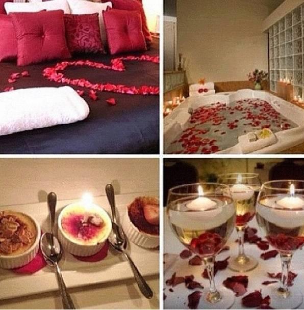 Устройте романтический вечер не выходя из дома: 10...