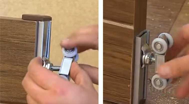Механизм для раздвижных дверей своими руками — инструкция, схемы (фото и видео)