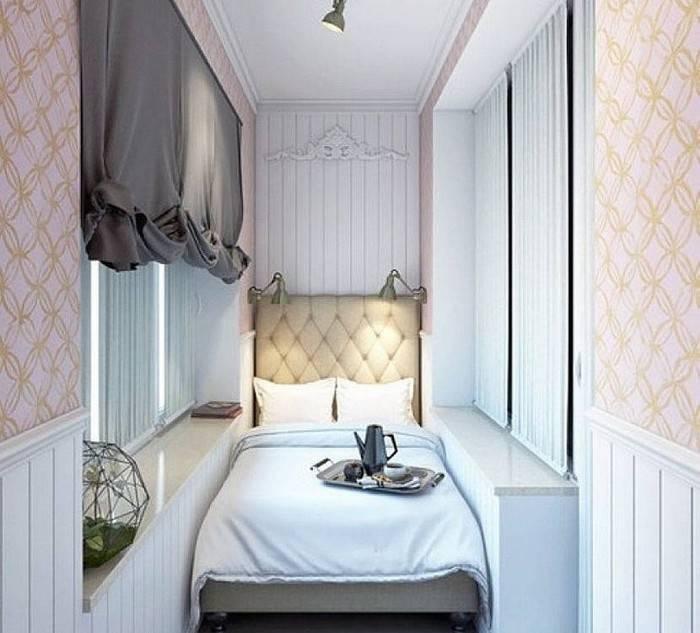 Спальня 9 кв. м. — лучшие варианты планировки, зонирования и оформления дизайна в маленькой спальне (100 фото)