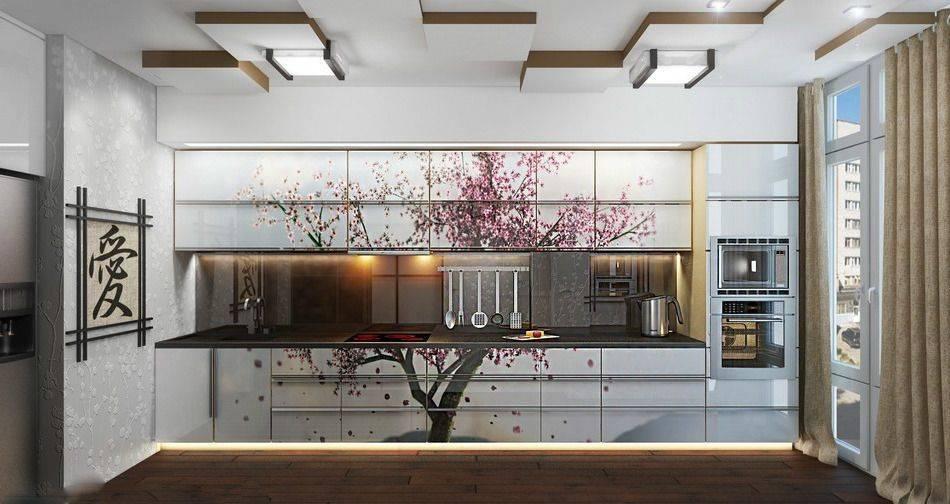 Японский стиль в кухонных интерьерах