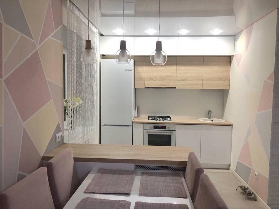 Особенности дизайна кухни-гостиной в хрущевке