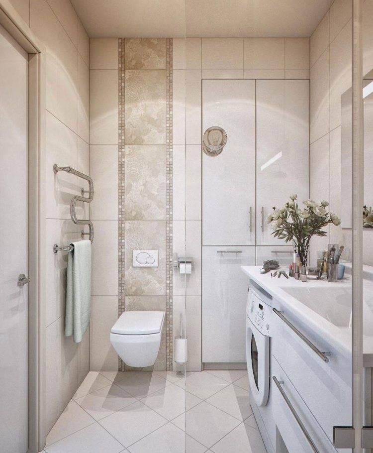 Варианты дизайна маленькой ванной комнаты