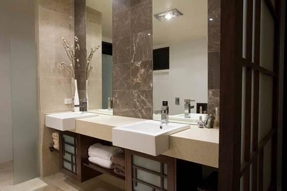 Столешница в ванную – современные модели и рекомендации по их применению в ванной (100 фото)