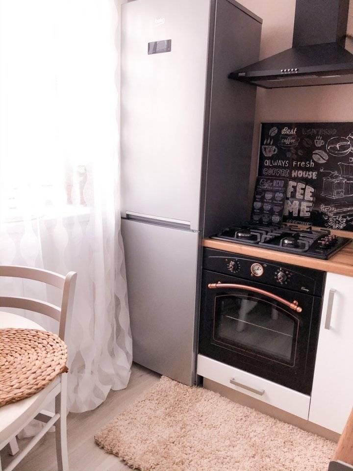Дизайн кухни в «хрущевке» (117 фото): интерьер кухни маленькой площади, выбираем обои и натяжной потолок для малогабаритной квартиры