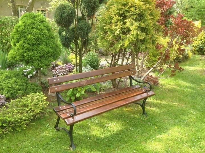 Все о садовых скамейках
