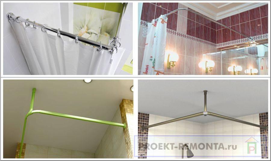 Какая палка для шторы в ванную будет лучшим выбором?