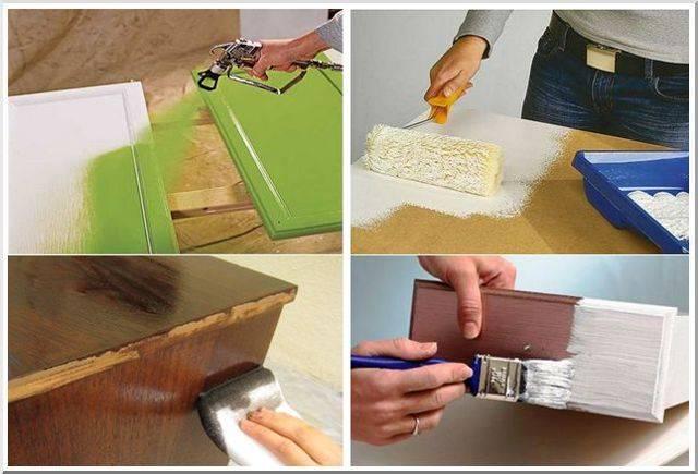 Как покрасить мебель из ДСП в домашних условиях