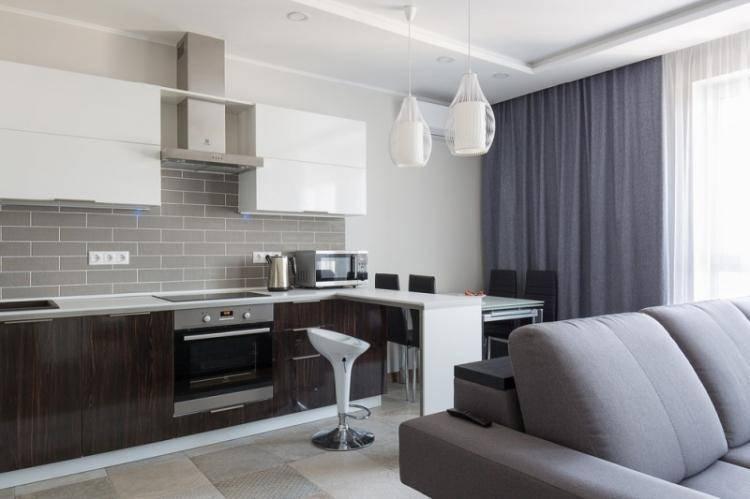 Идеи для дизайна кухни 13 кв. м