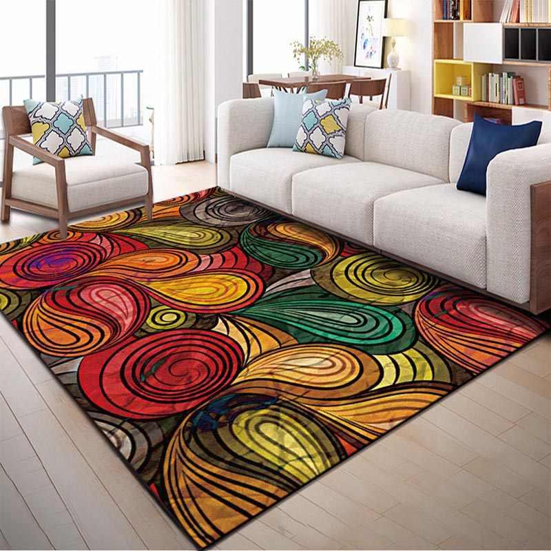 Как выбрать ковер на пол для гостиной: натуральные ковровые изделия в интерьере