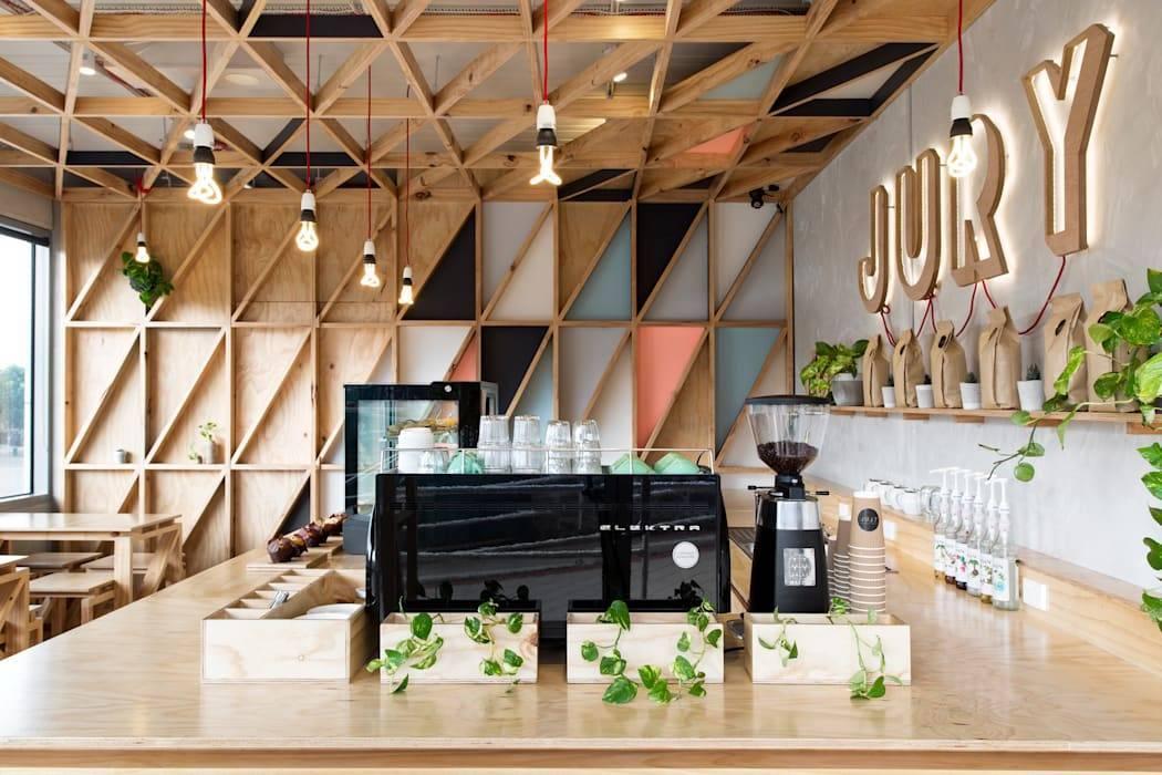 Кафе - дизайн помещения внутри и снаружи