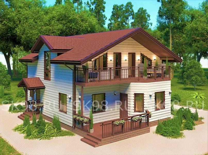 Проекты и планировки двухэтажных домов и коттеджей