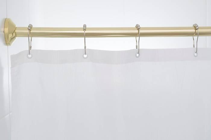 Угловой карниз для ванной: штанга для шторы, г-образный держатель в комнату для крепления шторки