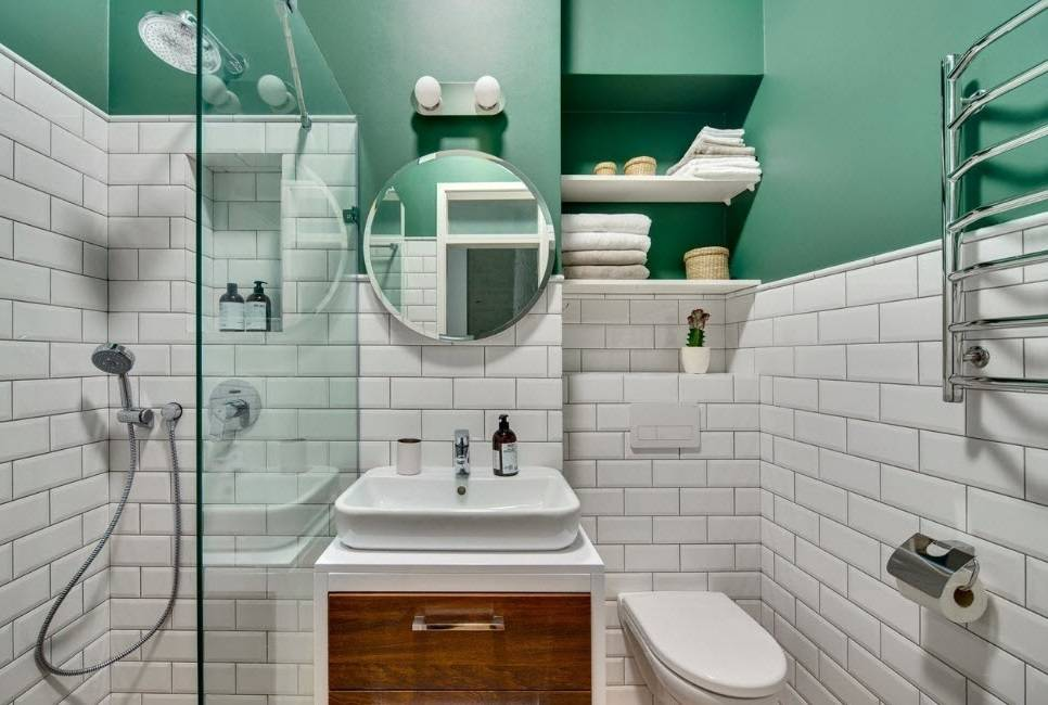 Дизайн ванной комнаты в 3 кв. метра (61 фото): гармоничный интерьер со стиральной машиной, варианты ремонта для совмещенного санузла, расположение унитаза