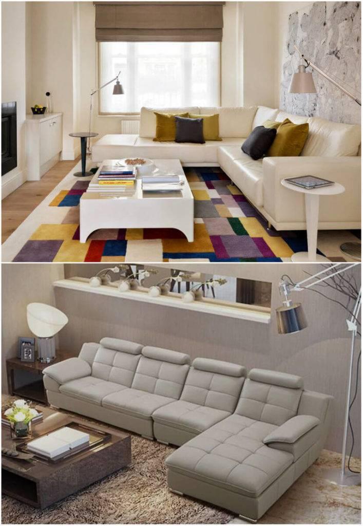 Угловые диваны в интерьере: особенности размещения в маленькой комнате и гостиной + фото » интер-ер.ру