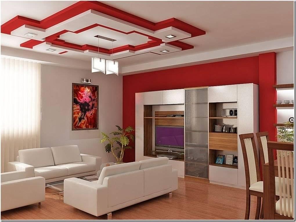 Натяжные потолки для зала: разновидности, советы по выбору, стильные решения