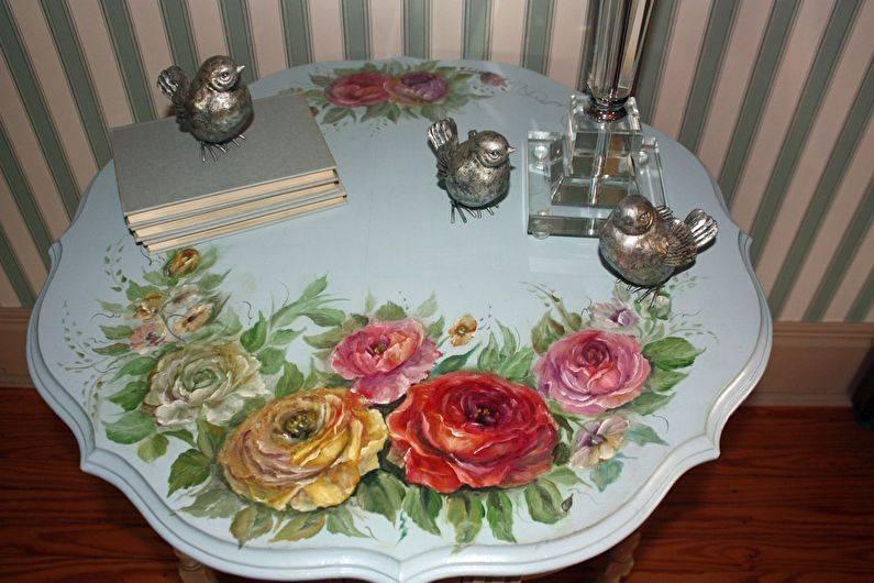 Декор стола: современные техники и фото примеры идеального оформления интерьера (105 фото и видео)