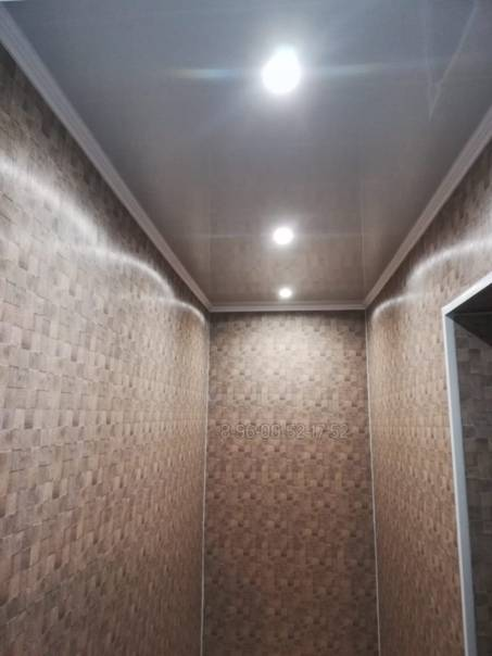 Пластиковые панели на потолок прихожей и коридора