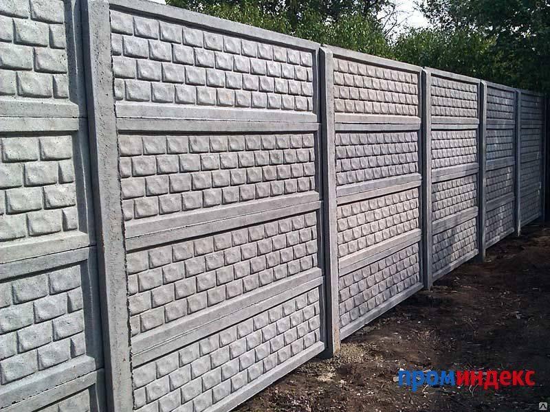 Разновидности и характеристики бетонных заборов