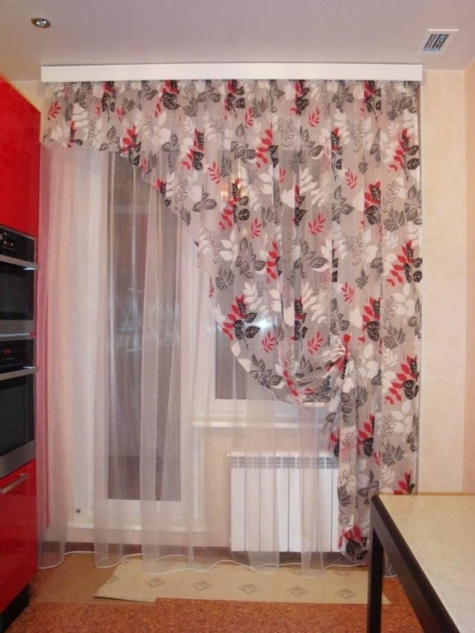 Дизайн штор для кухни с балконной дверью — фото — портал о строительстве, ремонте и дизайне