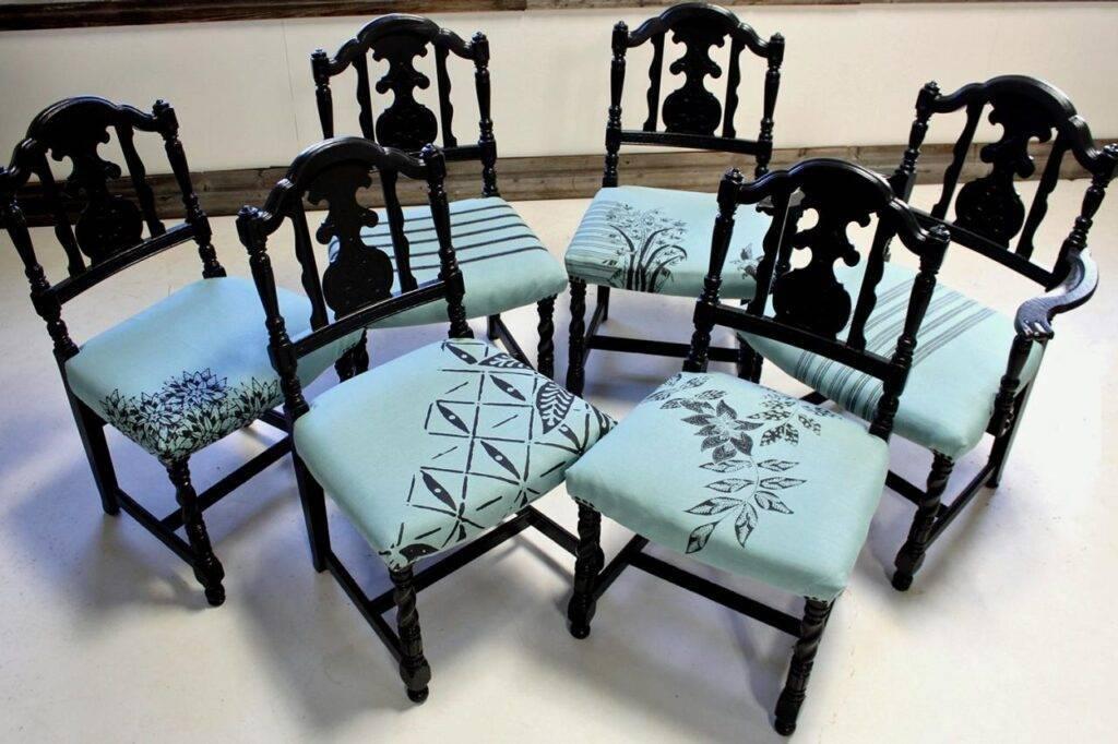 Оригинальные и полезные способы переделки старых стульев :: инфониак