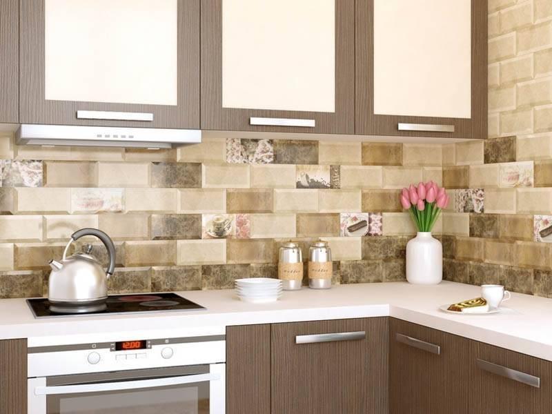 Дизайн фартука из плитки для кухни (73 фото): особенности дизайна плитки ромбом. панно из плитки в интерьере. подходит ли серая плитка для белой кухни?