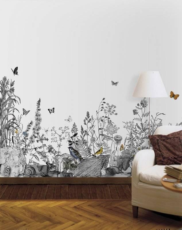 Красивая роспись стен — красивые идеи, разновидности, варианты применения и стильные сочетания (90 фото)