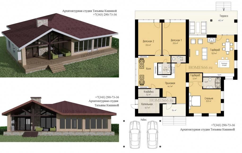 Дизайн интерьера загородного дома: тенденции, правила, стили