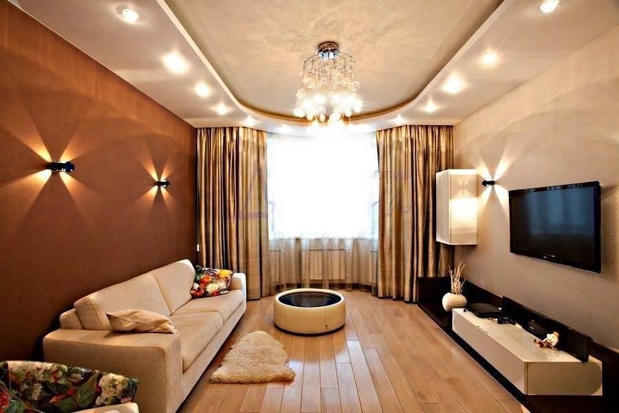 Комбинированные натяжные потолки: 60 фото, современные идеи дизайна
