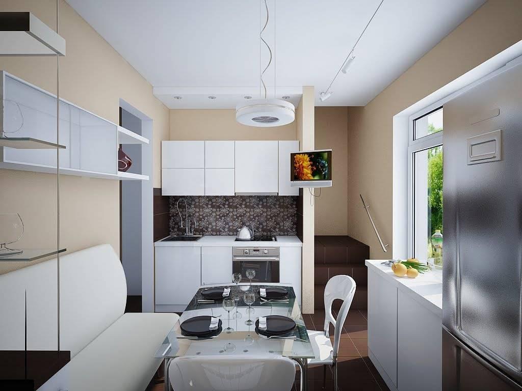 Интерьер маленькой кухни в хрущевке. 50 фото идей дизайна малогабаритной кухни